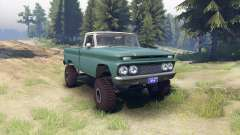 Chevrolet С-10 1966 Personalizado de dos tonos t