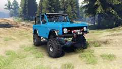 Ford Bronco 1966 [blue]