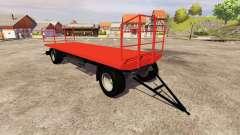 El trailer Agroliner bale