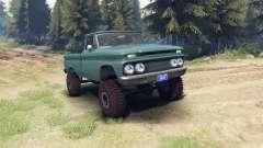 Chevrolet С-10 1966 Personalizado trópico de col
