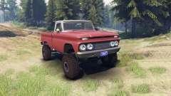 Chevrolet С-10 1966 Personalizado de dos tonos a