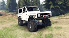 Ford Bronco 1966 [white]
