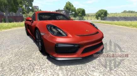 Porsche Cayman GT4 para BeamNG Drive