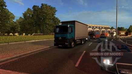 Mersedes-Benz Antos 12 para Euro Truck Simulator 2