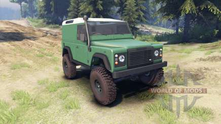 Land Rover Defender 90 [hard top] para Spin Tires
