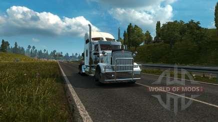 Kenworth W900A para Euro Truck Simulator 2