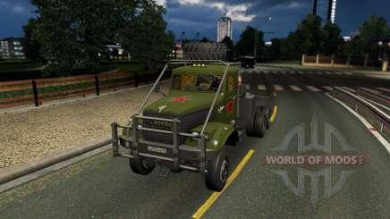 Kraz 255 para Euro Truck Simulator 2