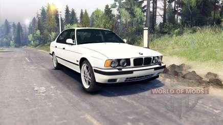 BMW M5 (E34) 1995 v1.1 para Spin Tires