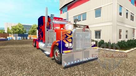 Peterbilt 379 [Optimus Prime] para Euro Truck Simulator 2