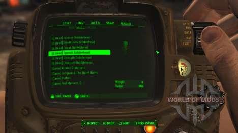 Fácil clasificación de los elementos para Fallout 4