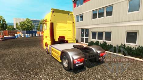 MAN TGX Euro 6 para Euro Truck Simulator 2