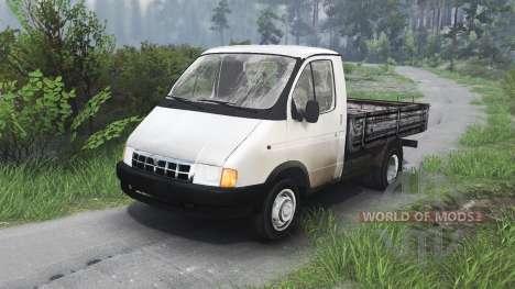 GAZ-3302 Gacela v1.1 para Spin Tires