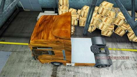 La piel de la Madera de Olivo en el camión MAN para Euro Truck Simulator 2