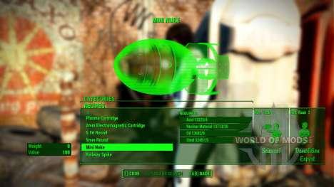 La elaboración de municiones para Fallout 4