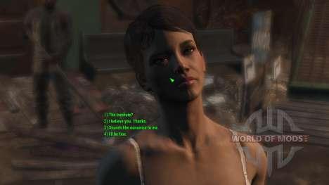 Revisión de los diálogos (en inglés) para Fallout 4