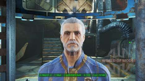 Geralt de Rivia para Fallout 4