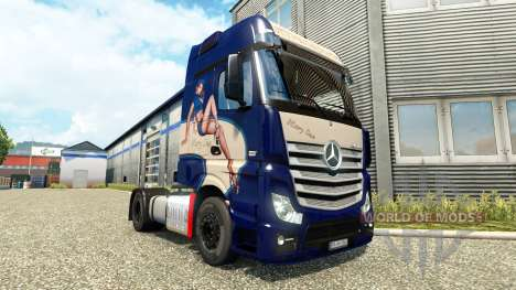 Mercedes-Benz Actros MP4 [Mary Sue Edition] para Euro Truck Simulator 2