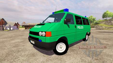 Volkswagen Transporter T4 Police para Farming Simulator 2013