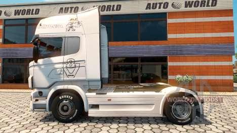 La piel Vabis Grupo Trans para el remolque de ve para Euro Truck Simulator 2