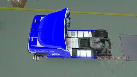 El Schalke 04 de la piel para Renault camión para Euro Truck Simulator 2