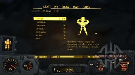 El número máximo de S. P. E. C. I. A. L. para Fallout 4