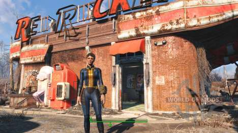 Proto Vault Suit para Fallout 4