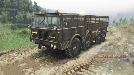 Tatra 813 KOLOS para Spin Tires