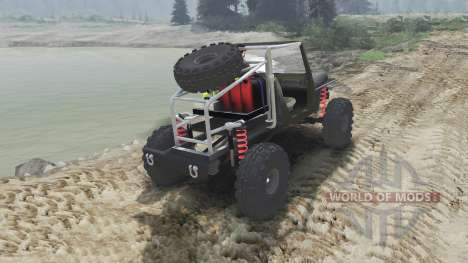 Jeep Wrangler JK8 Crawler [23.10.15] para Spin Tires