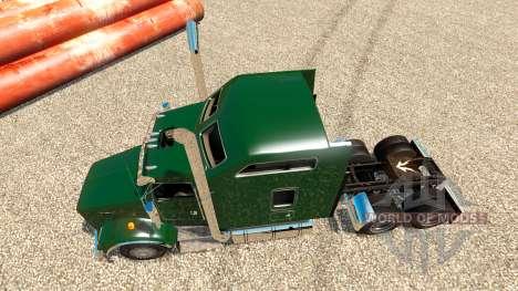 Kenworth T800 v1.0 para Euro Truck Simulator 2