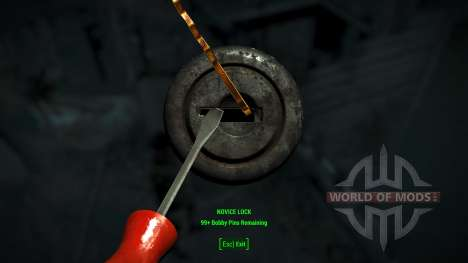 Easy lockpicking para Fallout 4