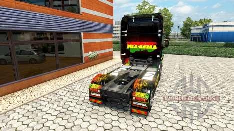 Reggae de la piel para Scania camión para Euro Truck Simulator 2