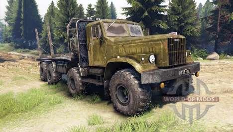 KrAZ-256 8x8 Personalizado para Spin Tires