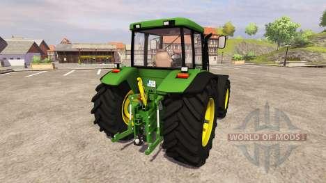 John Deere 7710 v2.3 para Farming Simulator 2013