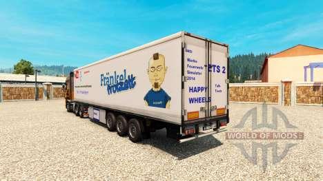 La piel es Harald Frankel en el remolque para Euro Truck Simulator 2