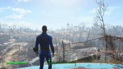 Guardar antes de salir de la bóveda para Fallout 4