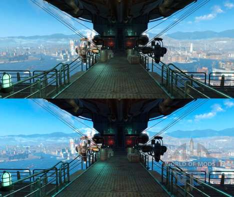 Enhanced Wasteland Preset para Fallout 4