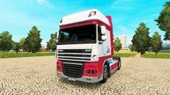 Kitty Logística skin for DAF truck