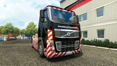 Schwerlasttransport skin for Volvo truck