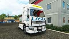 La piel LASO para Renault tractora