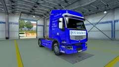 El Schalke 04 de la piel para Renault camión