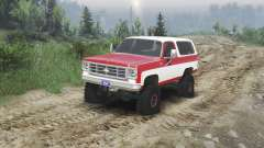 Chevrolet K5 Blazer 1975 [red and white]