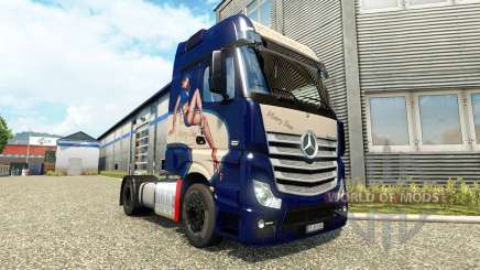 Mercedes-Benz Actros MP4 [Mary Sue Edition] para Euro Truck Simulator 2