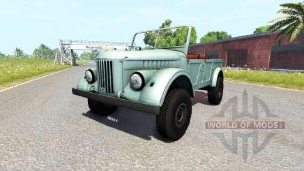 GAZ-69 para BeamNG Drive