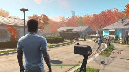 Desbloqueo de las puertas en la casa antes de la guerra para Fallout 4