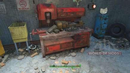 Hacer trampa en los materiales para la elaboración de para Fallout 4