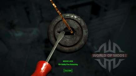 Easy lockpicking para Fallout 4