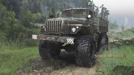 Ural-43206 [08.11.15] para Spin Tires