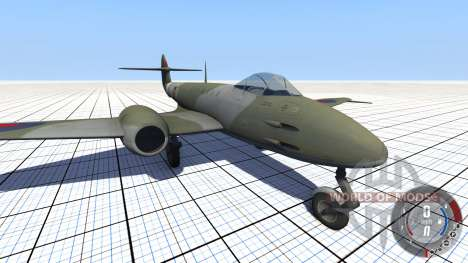 Gloster Meteor Mk. III Alpha para BeamNG Drive