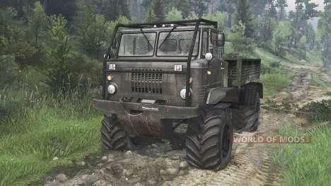 GAZ-66 [08.11.15] para Spin Tires