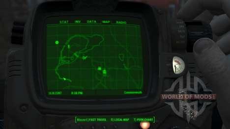 Immersive Map 4k - BLUEPRINT - Big Squares para Fallout 4